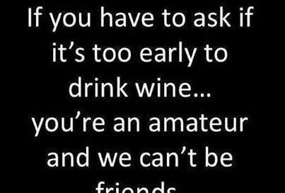 Wine motivational